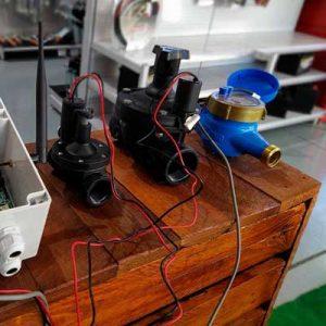 Programación remota de riego
